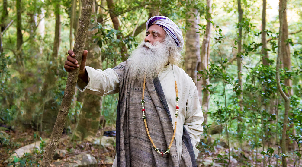 About Chamundi Hills Sadhguru enlightenment